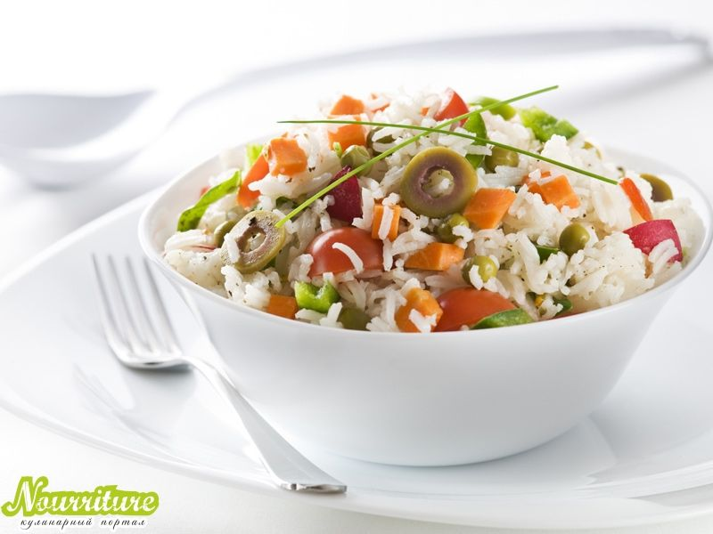 Рис с овощами при панкреатите
