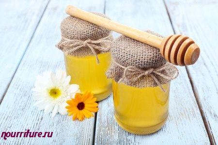 Мёд с красным луком при насморке и кашле