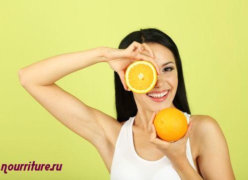 Маска из апельсина для жирной кожи