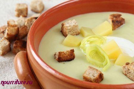 Суп-пюре из телячьей или куриной печени