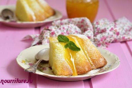 Бисквит из манной крупы (манный пудинг) по-польски
