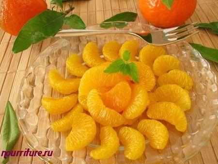 Компот из апельсинов или мандаринов