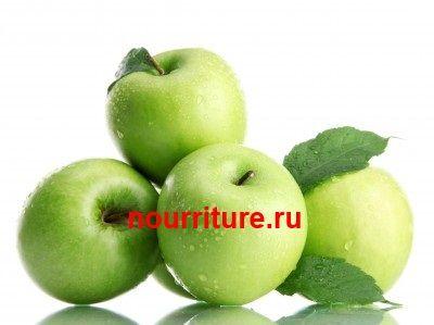 Яблоки с кремом при атопической экземе