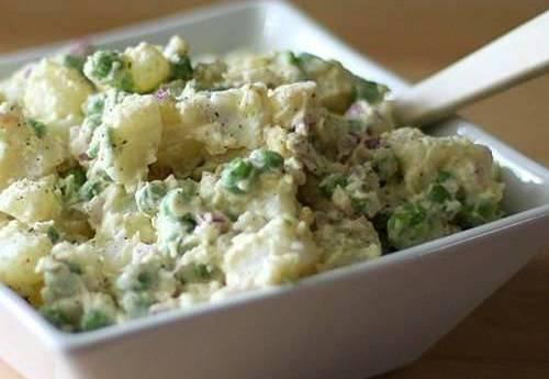 Салат по-рюгенски «Картофельный»