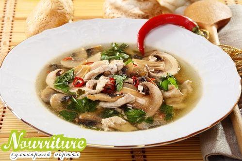 Стишок о грибном супе