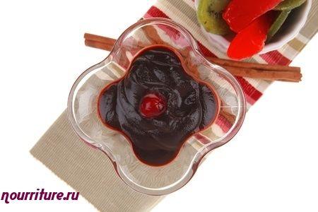 Вишнёво-малиновое желе