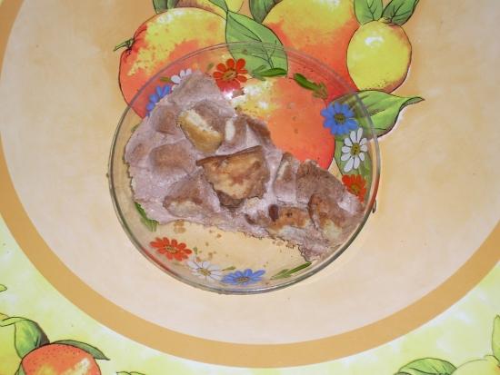Торт рубленый со сливками и ромом