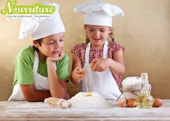 Ода о приготовлении пищи детьми