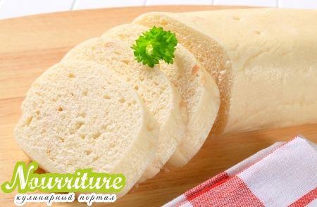 Хлебный пудинг по-немецки (хлебные кнедлики)