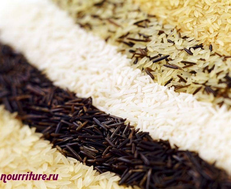 Рассыпчатая смесь из дикого и пропаренного риса