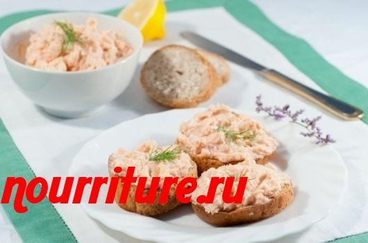 Масло с копчёной рыбой (для бутербродов)