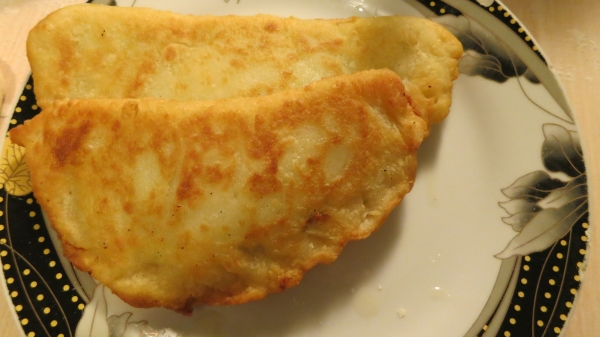 Заварное тесто для чебуреков в хлебопечке