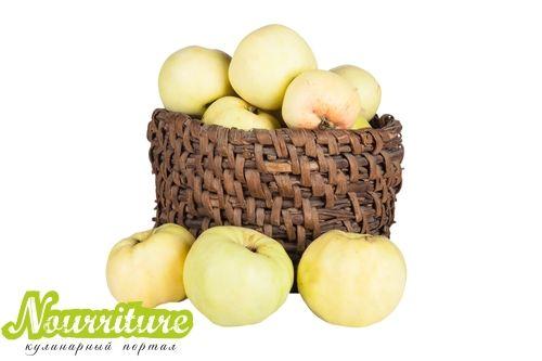 Яблоки по-французски