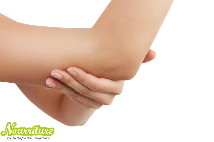 Шелушение кожи на локтях: почему возникает грубая кожа на локтях?
