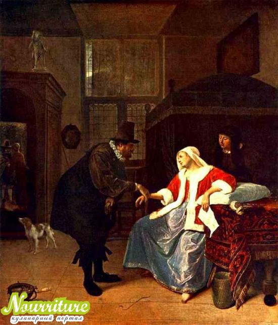 """Ян Стен, """"малые голландцы"""" и картина на тему """"Врач"""""""