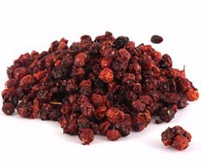 Настой сушёных плодов рябины красной при пониженном уровне эстрогенов