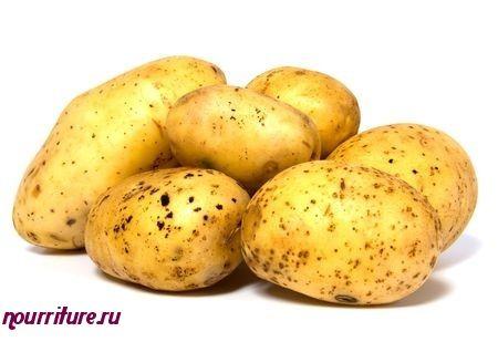 Картофельный салат с фасолью по-польски
