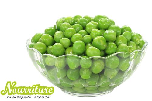 Маска из зелёного горошка для разглаживания морщин и жирной кожи