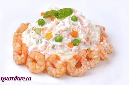 Салат по-итальянски с анчоусами
