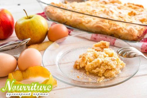 Яблочный омлет по-южнотирольски (любимое блюдо австрийского императора)