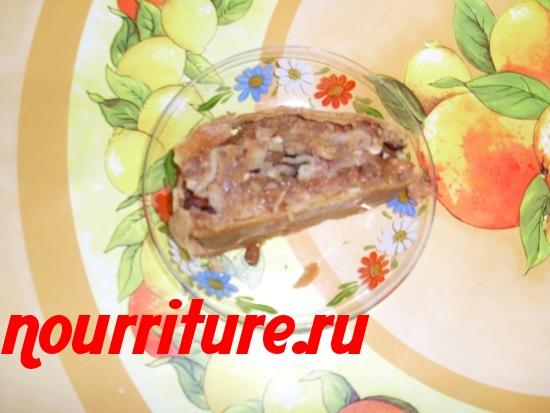 Старовенский штрудель с яблоками (настоящее восточное лакомство)