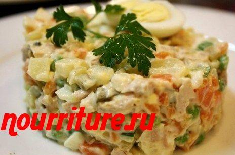 """Салат """"Камчатский"""" с сардинами в масле"""