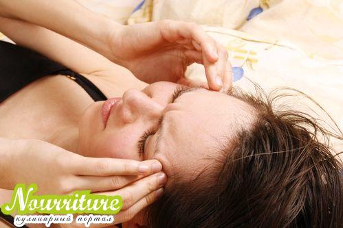 Первая помощь при мигрени