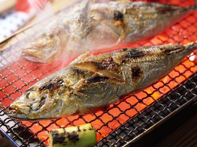 Рыба жареная грилье