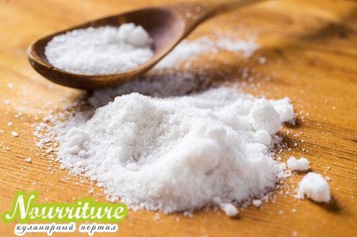 Кулинарные приметы с солью