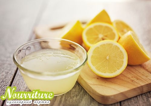 Лимонно-медовая маска для сухой кожи