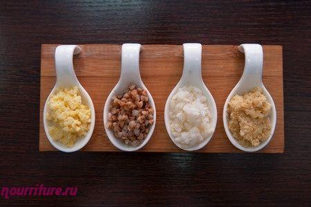Крупы (обработка крупы, какие блюда можно готовить из круп)
