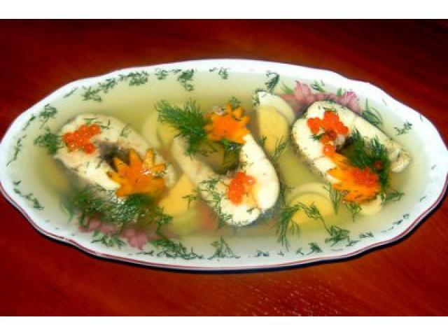 Рыба заливная рецепт с фото