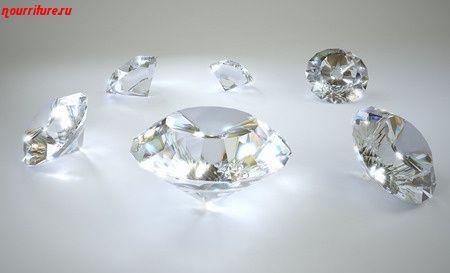 Камни для здоровья человека: бриллиант (алмаз) при болезнях сердца и гипоксии мозга