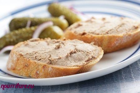 Паштет из печени (для бутербродов)