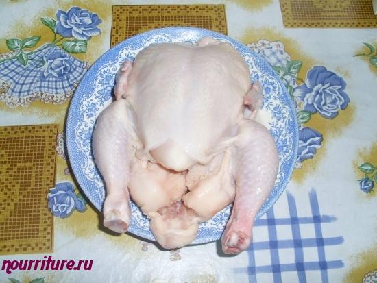 Курица в майонезе (салат)