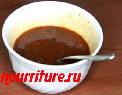 Соус красный с мадерой (к рыбе, ракам и мясу)
