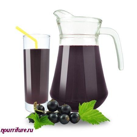Безалкогольный тоник из соков черноплодной рябины и смородины