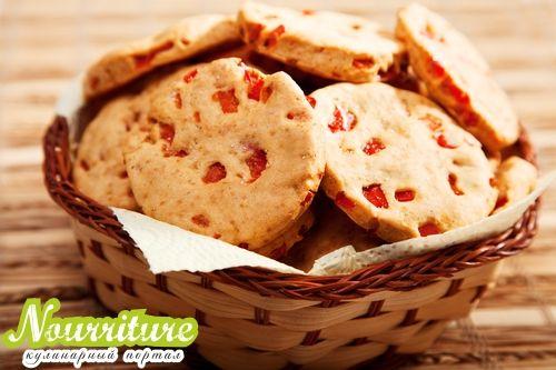 Печенье с перцем и сыром