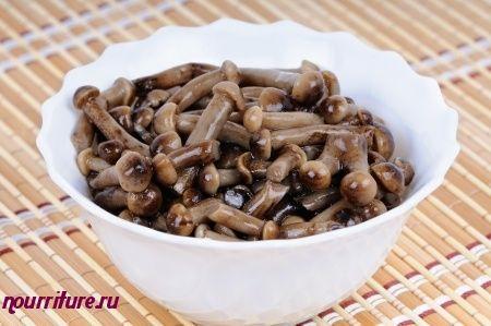 Салат из солёных или маринованных грибов (для бутербродов)
