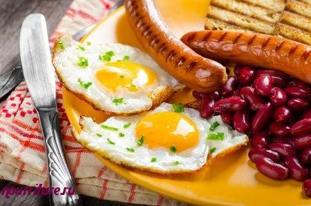 Бутерброды калорийные с сосиской и яйцом
