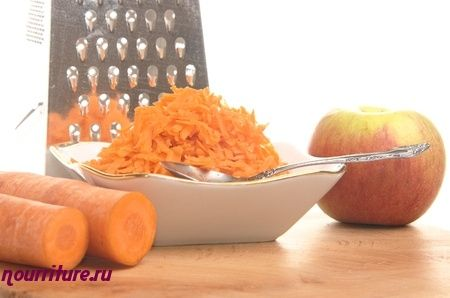 Салат из моркови, яблок и хрена по-польски