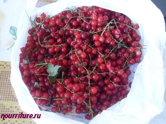 Мармелад ягодный (из красной смородины. малины, вишни и клубники)