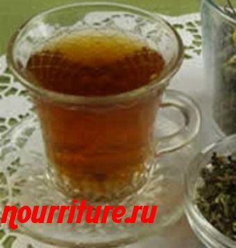 Напиток из листьев облепихи, зверобоя и чёрной смородины
