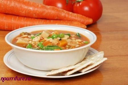 Виды заправочных супов: борщи, щи, рассольники