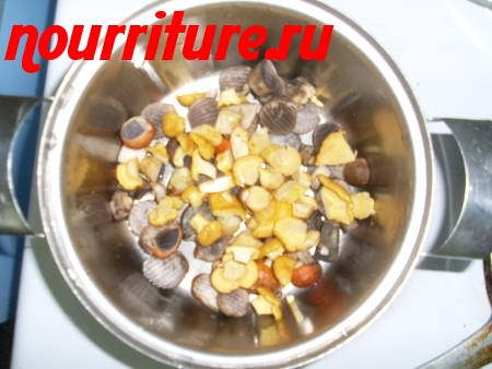 Приготовление консервированных грибов
