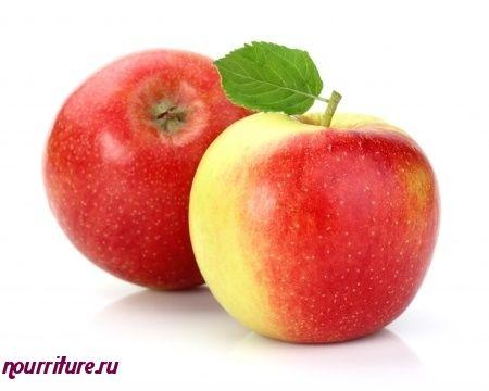 Закуска из яблок и крапивы
