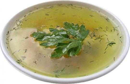 Рисовый суп с кореньями при атопической экземе
