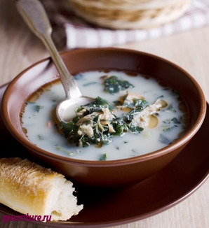 Суп картофельный с салакой, килькой, хамсой или тюлькой