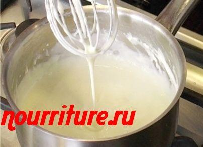Соус молочный (жидкий)