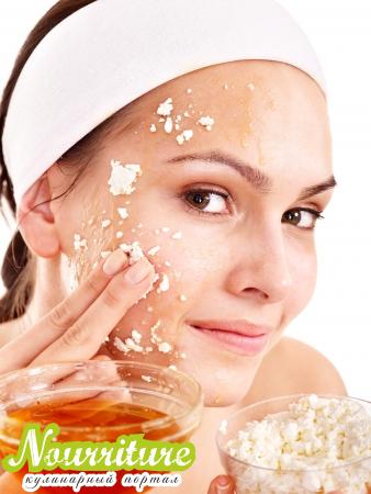 Творожно-медовая маска для сухой кожи